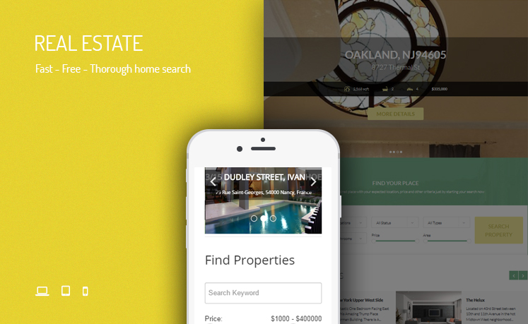 JUX Real Estate - Responsive Joomla Extension