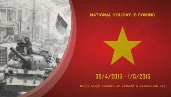 Day Off During Vietnamese Liberation and International Labour Day