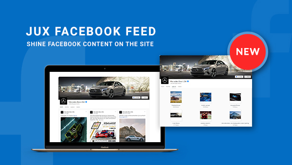 9 Stunning Features Of JUX Facebook Feed