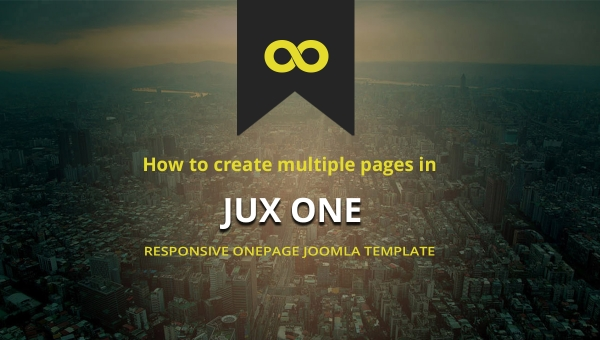 [Tutorial] How to create multiple pages in JUX One